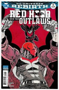 Red Hood And The Outlaws #15 Rebirth Variant Cvr (DC, 2017) NM