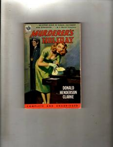 4 Pocket Books Murderer's Holiday, House Fury, Imperial City, Mortgage Life JL35