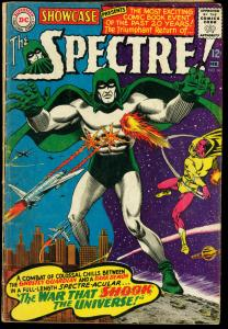 SHOWCASE COMICS #60-RETURN OF THE SPECTRE-1966 G/VG