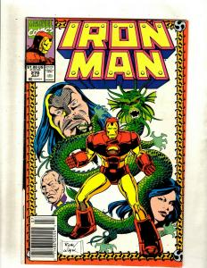 11 Comics Iron Man 270 273 276 279 288 290 292 Annual 15 Action Hour 7 ++ J369