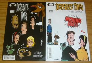 Desperate Times vol. 3 #0-1 VF/NM complete series - chris eliopoulos - image set