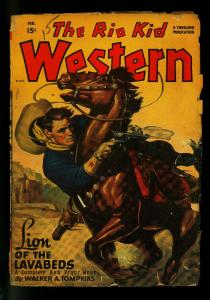 The Rio Kid Western February 1948- Thrilling Pulp- G/VG
