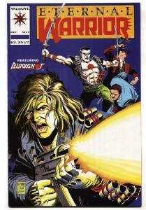 Eternal Warrior #5 1992 First full appearance of BLOODSHOT Valiant  NM-