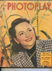 Photoplay-Olivia de Haviland-Kathryn Grayson-Ann Sheridan-Oct-1947