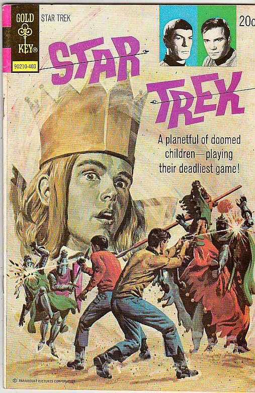 Star Trek #23 (Mar-74) FN/VF+ Mid-High-Grade Captain Kirk, Mr Spock, Bones, S...