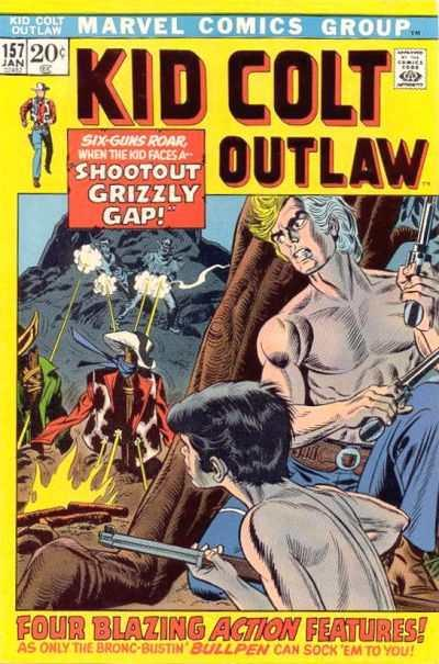 Kid Colt Outlaw #157, VG (Stock photo)