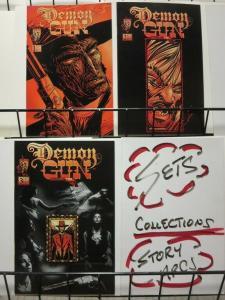 DEMON GUN (1996 CRUSADE) 1-3  Gary Cohn  COMPLETE!