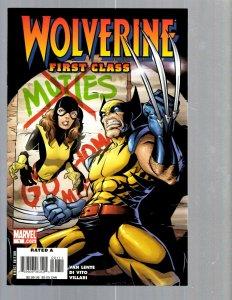 12 Marvel Comics Wolverine First Class #1 2 3 4 7 8 9 10 11 12 13 plus #1 EK17