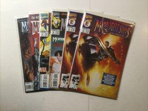 Midnight Sons Unlimited 1-5 1 2 3 4 5 Lot Run Set Near Mint Nm Marvel