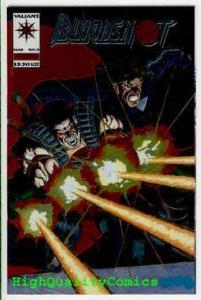 BLOODSHOT #0, NM+, Chromium cover, Joe Quesada, Valiant, more in store