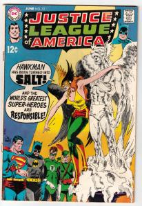 Justice League of America #72 (Jun-69) FN/VF Mid-High-Grade Justice League of...