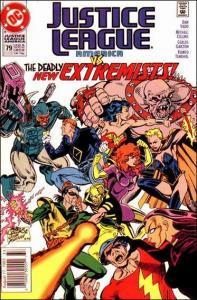 DC JUSTICE LEAGUE AMERICA (1987 Series) #79 VF/NM