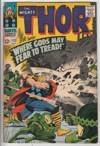 Thor, the Mighty #132 (Sep-66) FN- Mid-Grade Thor, Hercules