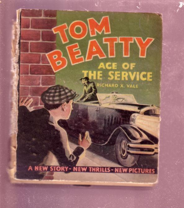 TOM BEATTY ACE OF THE SERVICE RICHARD X. VALE  BLB-#723 FR