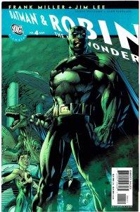 All-Star Batman & Robin #4 - Frank Miller, Jim Lee - NM+