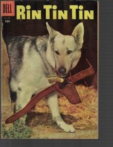 Rin Tin Tin #11 (Dell, 1956) F-