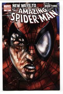 AMAZING SPIDER-MAN #570-VARIANT-Marvel comic book-2008