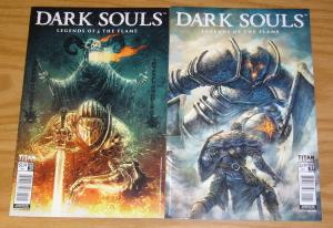 Dark Souls: Legends of the Flame #1-2 VF/NM complete series - A variants set