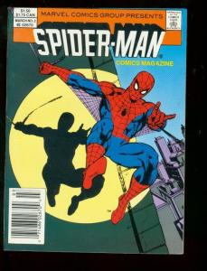 SPIDER-MAN COMICS MAGAZINE #2 1987 DIGEST VF