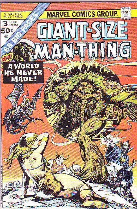 Giant-Size Man-Thing #3 (Feb-75) NM Super-High-Grade Man-Thing