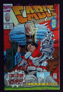 Cable: Blood and Metal #2 (1992)