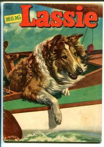 Lassie #9 1952-Dell-the famous collie-M-G-M films-VG