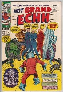 Not Brand Echh #1 (Aug-67) NM- High-Grade Fantastic Four, Captain America, Na...