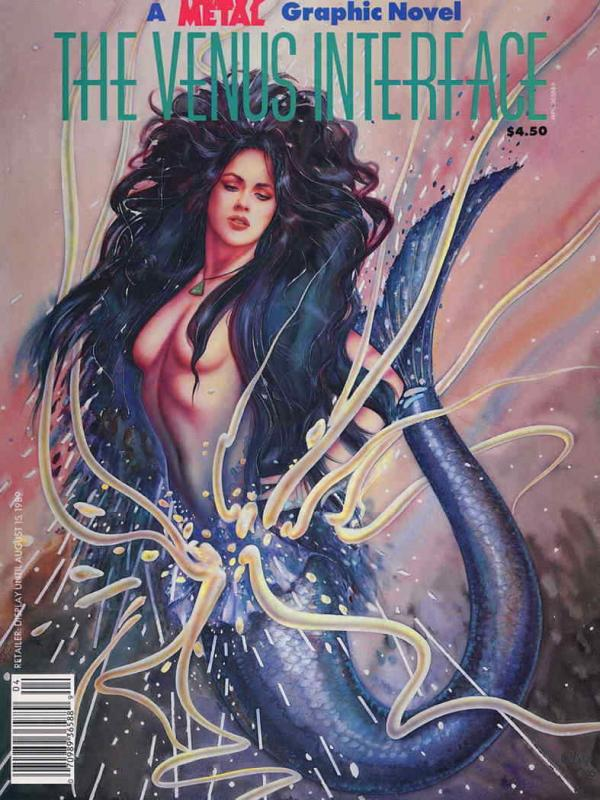 Venus Interface, The (Heavy Metal's…) #1 VF/NM; HM Communications | save on ship