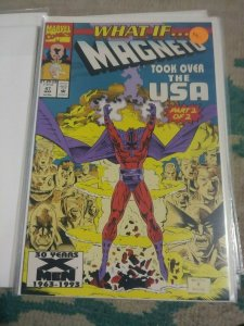 What If...? # 47 1993  Marvel WHAT IF MAGNETO TOOK OVER THE USA  PT 2