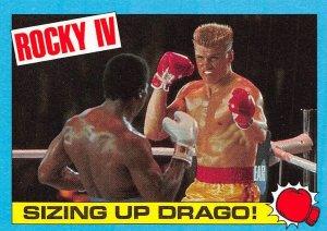 1985 Topps Rocky IV #17 Sizing Up Drago! > Ivan Drago > Apollo Creed