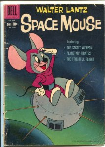 Space Mouse-Four Color Comics #1132 1960-Dell-Walter Lantz-satellite cover-G