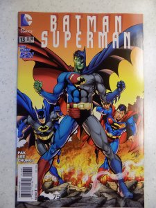 BATMAN SUPERMAN NEW 52 # 13