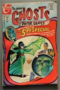 Many Ghosts of Doctor Graves  #24    F/Better  Actual Photo