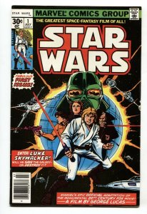 Star Wars #1 1977 - Second print Marvel Key Issue bronze-age VF/NM