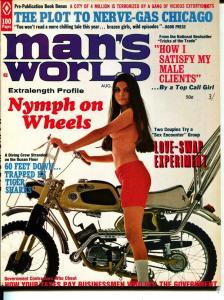 Man's World-8/1970-Pussycat-Motorcycle-Nymphs-Adventure