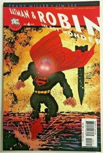 ALL-STAR BATMAN & ROBIN#4 VF/NM 2006 FRANK MILLER COVER DC COMICS