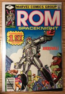 Rom #1 Dec 1979 8.0 VF