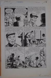 VERNON GREENE original art, THIS IS WAR #8,pgs 10 11 12 13 14 15,Golden Age,1953