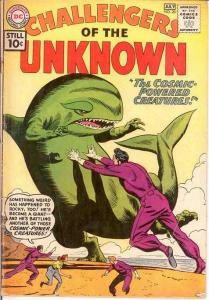 CHALLENGERS OF THE UNKNOWN 20 GOOD July 1961 COMICS BOOK