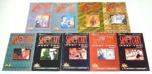 Sanctuary part 2 #1-9 complete series - viz manga 2 3 4 5 6 7 8 comics set