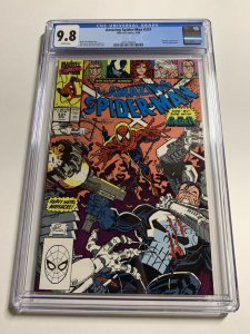 Amazing Spider-man 331 Cgc 9.8 White Pages Marvel 020