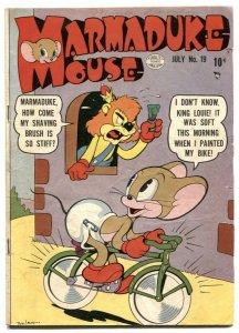 Marmaduke Mouse #19 1950- Golden Age Funny Animals VG+