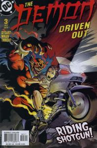 Demon: Driven Out #3 VF/NM; DC | save on shipping - details inside