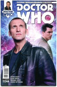 DOCTOR WHO #3 B, VF/NM, 9th, Tardis, 2015, Titan, 1st, more DW in store, Sci-fi