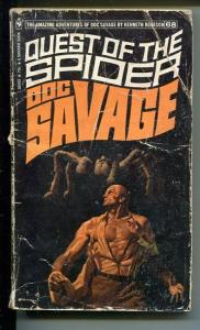 DOC SAVAGE-QUEST OF THE SPIDER-#68-ROBESON-G-JAMES BAMA COVER G