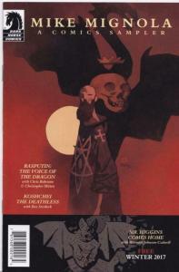 MIKE MIGNOLA Sampler ashcan promo, VF/NM, Hellboy, Rasputin, 2017