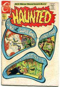 Haunted #1 1971- All Ditko art- Chartlon Horror- Slave Ghost VG