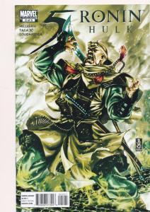 5 RONIN - HULK #2  ~ Marvel Comics 2011 ~ NM (HX532)