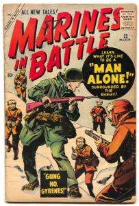 Marines in Battle #22 1958- Atlas Korean War comic G