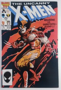 The Uncanny X-Men #212 - Colossus & Kitty Pryde Leaves X-Men - NM+ Marvel 1986